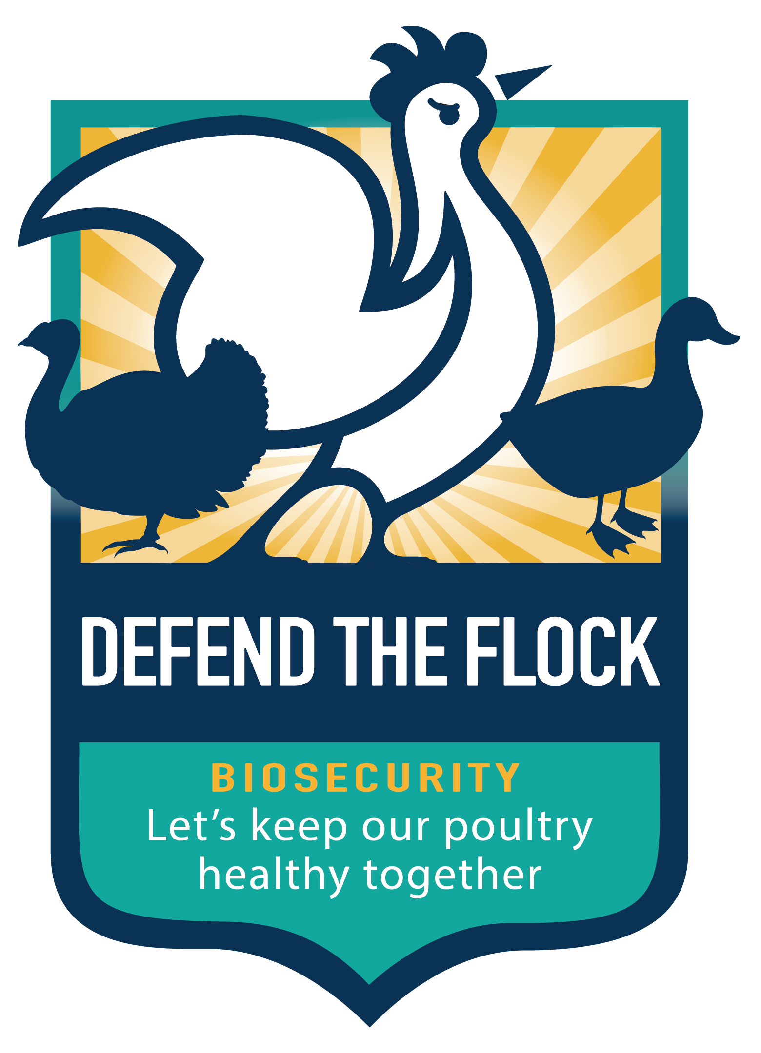 Defend the Flock Badge